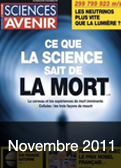 Sciences et Avenir - Novembre 2011